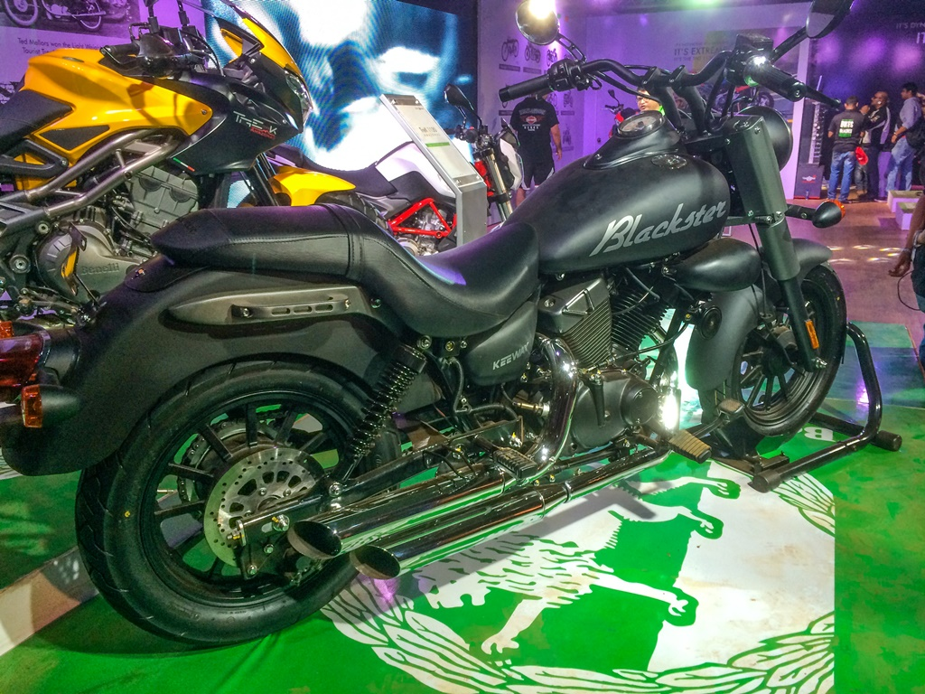 Benelli Launches Keeway Blackster 250, A Harley-Davidson