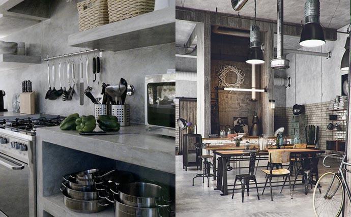Lo que no puede faltar en tu cocina de estilo industrial