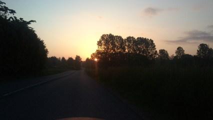 Solen paa vej