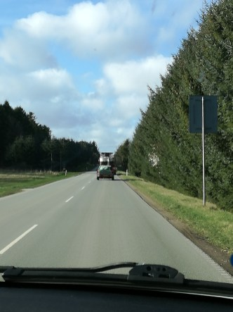Maxi 77 på vej til Frederikshavn