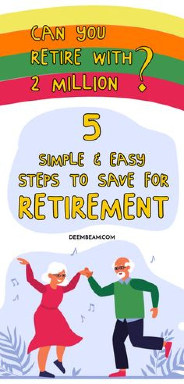 easy steps to save for retirement