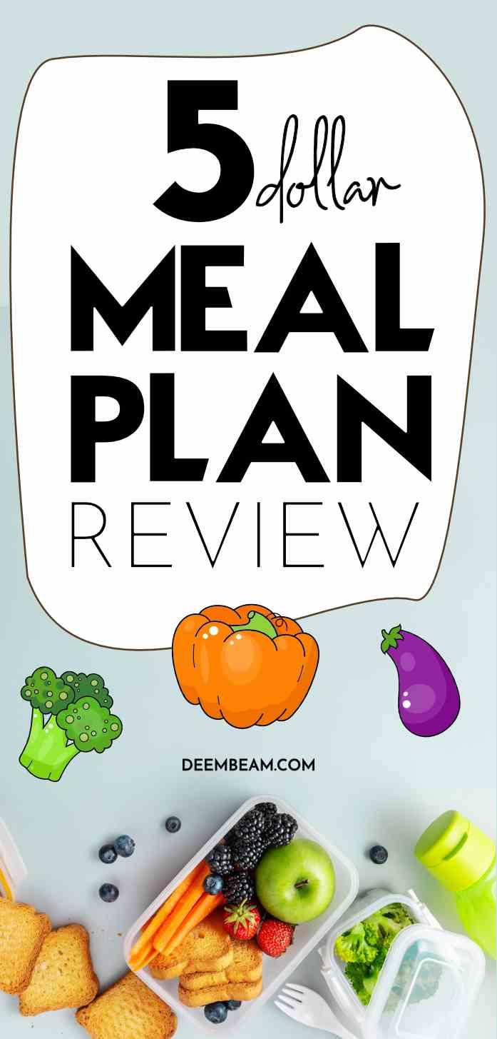 5 dollar meal plan review