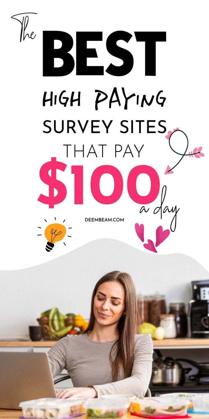 best survey sites that pay 100 a day