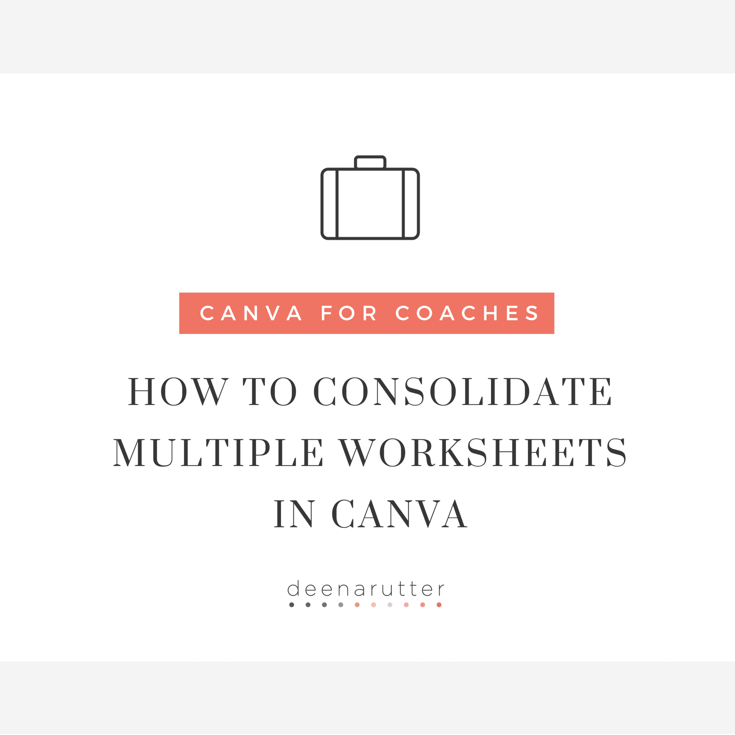 How To Consolidate Multiple Worksheets In Canva