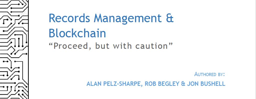 Blockchain Versus Records Management   Deep Analysis Report