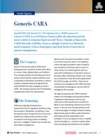 Analyst Report Generis Cara