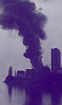 Smoke On The Water - the burning of the Montreux Casino in 1971