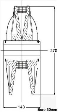 Variable Speed Pulley For Heidelberg Printing Machine