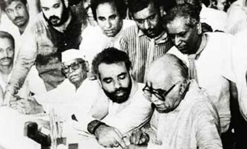 Adwani and modi 1991