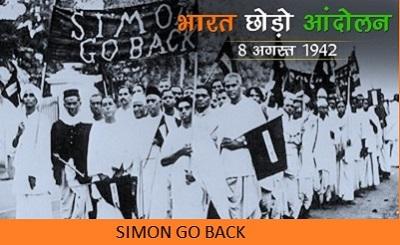 1942 भारत छोड़ो आन्दोलन के कारण