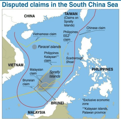 south china sea islands