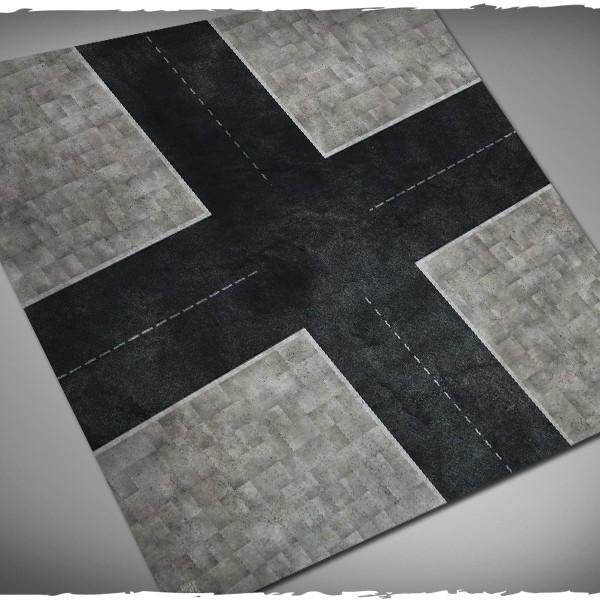 3'x3' urban gaming mat from Deep Cut