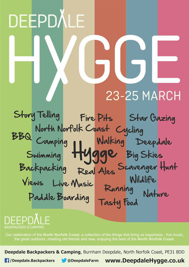 Deepdale Hygge | 23 to 25 March 2018