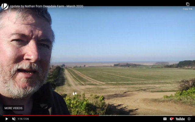 Update by Nathan from Deepdale Farm – March 2020