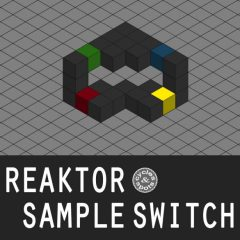 Reaktor Sample Switch <br><br>– 1 NI Reaktor Instrument (Full V6.1 & higher), (127 Samples, 40 Snapshots), 313 MB.