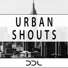Urban Shouts <br><br>&#8211; 200 Wav Files (100 Dry + 100 Wet), 24 Bit Wavs.