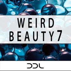 Weird Beauty 7 <br><br>&#8211; 100 Wav Loops (Up To 27 Bars Long), 310 MB, 24 Bit Wavs.