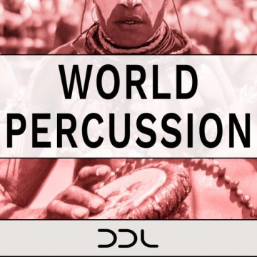 World Percussion – 400 Wav Loops, 888 MB, 24 Bit Wavs