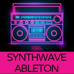 Synthwave Ableton Multi Template <br><br>– Template With Presets For Ableton Live