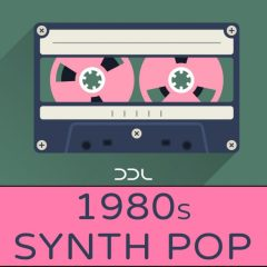 1980s Synth Pop <br><br>– 10 Themes (Wav+MIDI), 24 Bit Wavs.