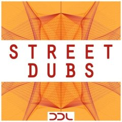 Street Dubs <br><br>– 10 Themes (57 Bass, Melodies, Guitars, Brasses, FX Loops), 53 Rhythmic Elements (Kick, Snare, Hihat, Perc), 31 MIDI Files, 350 MB, 24 Bit Wavs.