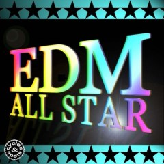 EDM All Star <br><br>&#8211; 15 Construction Kits (230 Wav Loops &#038; 70 MIDI Files), 822 MB, 24 Bit Wavs.