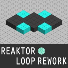 Reaktor Loop Rework <br><br>– 1 Reaktor Instrument, 363 Loops integrated (Bass, Beat, Chord, Percussion, Music Loops), 1.11 GB.