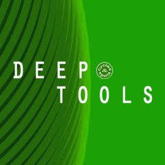 Deep Tools <br><br>– 100 Loops (Chords, Pads, Drums, Basses, Percussions, Effects), 210 One-Shots (40 Claps, 40 Hihats, 24 Kicks, 41 Percussions, 65 Sounds), 280 MB, 24 Bit Wavs.