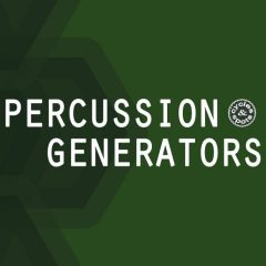 Percussion Generators <br><br>&#8211; 9 NI Kontakt Patches (Full Version 5.7.3 &#038; Higher)(6 Percussion Sequencers, 1 Loop Player, 2 One-Shot Players), 189 One-Shots, 175 MB, 24 Bit Wavs.