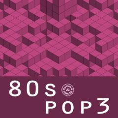 80s Pop 3 <br><br>&#8211; 180 Loops (21 Basslines (Synth &#038; Guitar), 20 Beats (Plus Up To 3 Variations), 12 Chord Progressions, 10 Guitar Strums &#038; Melodies, 25 Synth Melodies, 63 MIDI Files, 317 MB, 24 Bit Wavs.