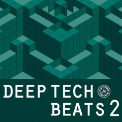 Deep Tech Beats 2 <br><br>– 200 Loops (100 Beat Loops, 100 No-Kick Equivalents), 282 MB, 24 Bit Wavs.