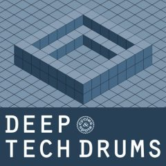 Deep Tech Drums <br><br>– 300 One Shots (50 Kick, 50 Clap, 50 Snare, 50 Open Hihat, 50 Close Hihat, 50 Perc, 168 MB, 24 Bit Wavs.
