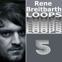 Rene Breitbarth Loops Vol.5 <br><br>– 362 Loops (1-8 Bars), 120 Beat Loops, 22 Bass Loops, 34 Rhythmic Loops, 29 Synth Loops, 60 Music Loops, 97 Chord Loops, 123 BPM, 341 MB, 24 Bit Wavs.