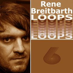 Rene Breitbarth Loops Vol.6 <br><br>– 388 Loops (1-8 Bars), 146 Beat Loops, 16 Bass Loops, 34 Rhythmic Loops, 52 Synth Loops, 41 Music Loops, 99 Chord Loops, 341 MB, 123 BPM, 24 Bit Wavs.