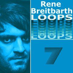 Rene Breitbarth Loops Vol.7 <br><br>– 371 Loops, 10 Themes (Bassline, Chords, Melody, Backing), 21 Beat Loops, 22 Bass Loops, 22 Rhythmic Loops, 33 Synth Loops, 63 Music Loops, 124 BPM, 1-8 Bars), 780 MB, 24 Bit Wavs.