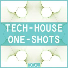 Tech House One Shots <br><br>– 400 Drum One Shot Samples (50 Kicks, 50 Claps, 50 Close Hihats, 50 Open Hihats, 50 Percussions, 50 Snares), 220 MB, 24 Bit Wavs.