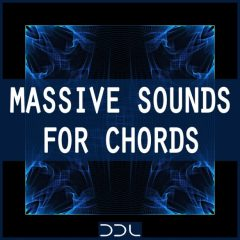 Massive Sounds For Chords <br><br>– 70 Presets For NI Massive (V1.5 And Higher), 10 MB.