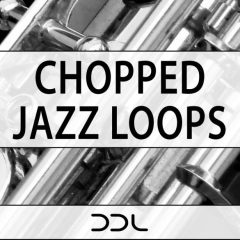 Chopped Jazz Loops <br><br>&#8211; 400 Loops (100 Drums Loops, 100 Brass Loops, 50 Bass Loops, 50 Guitar Loops, 50 Keys Loops, 50 Piano Loops), 483 MB, 24 Bit Wavs.