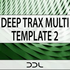 Deep Trax Multi Template 2 <br><br>– 1 Ableton Live Project File Template (9.7&Higher), 1 NI Reaktor Blocks Ensemble (Full Version 6.1 & Higher), 161 Loops & One-Shots, 180 MB, 24 Bit Wavs.