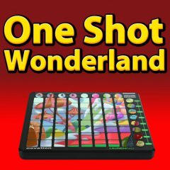 One Shot Wonderland <br><br>&#8211; 1 Novation Launchpad Arpeggiator Patch For Ableton Live Suite (8.2 And Higher) Plus 329 One Shots(198 Sounds,  Claps, 14 Hihats, 17 Kicks, 21 Percussion Shots, 17 Snares, 11 Basses, 8 Chords, 13 Effect Sounds, 11 Pads, 7 Synths), 388 MB, 24 Bit Wavs.