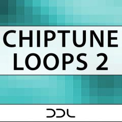 Chiptune Loops 2 <br><br>&#8211; 10 Themes (104 Wav + MIDI Loops), 24 Bit Wavs.