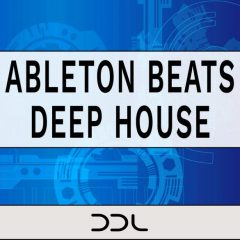 Ableton Beats Deep House <br><br>– 1 Customizable Ableton Live 10 Set, 400 One-Shots, 24 Bit Wavs.