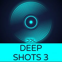 Deep Shots 3 <br><br>– 400 One Shot Samples, 24 Bit Wavs.