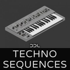 Techno Sequences<br><br>– 80 Synth Loops, 451MB, 24 Bit Wavs.