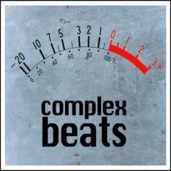 Complex Beats <br><br>&#8211; 495 Loops (50 Beats &#038; 445 Component Loops (Kicks, Snares, Hats, Percs, FX etc.), 113-127BPM, 2-8 Bars, 878 MB, 24 Bit Wavs.