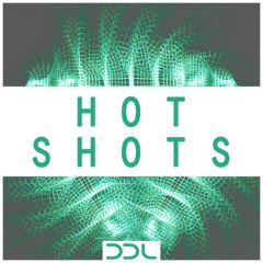 Hot Shots <br><br>– 500 One Shots (50 Kicks, 50 Sub Kicks, 50 Claps, 50 Open Hihats, 50 Closed Hihats, 50 Shakers, 50 Bongos/Congas, 50 Toms), 24 Bit Wavs.