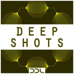 Deep Shots <br><br>&#8211; 430 One-Shot Samples (50 Claps, 50 Hats, 50 Kicks, 100 Percs (Lo, Mid, Hi), 50 Rims, 50 Snares, 80 Sounds), 240 MB, 24 Bit Wavs.
