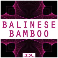 Balinese Bamboo <br><br>&#8211; 67 One Shots, 1 Ableton Live Suite Instrument Rack (8 Macro Knobs), 235 Wav Loops (194 Original Instrument Loops (Straight, Triplet, Muted), 41 Processed Loops (Ambience, Percussive, Vocoder), 232 MB, 24 Bit Wavs.