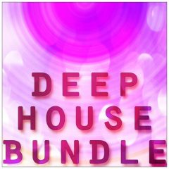 Deep House Bundle <br><br>– 5 Full Packs 50% Off – Regular 70.45 € (Deep Tools, Deep Jewels, Deep Chords 2, House Basslines, Multi Perc), 2 GB, 24 Bit Wavs.