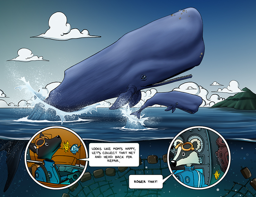Hold Fast Leviathan – Page 10 & 11